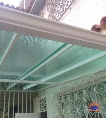 Cobertura galvalume para varanda de escola sem sol for Barras de aluminio para toldos