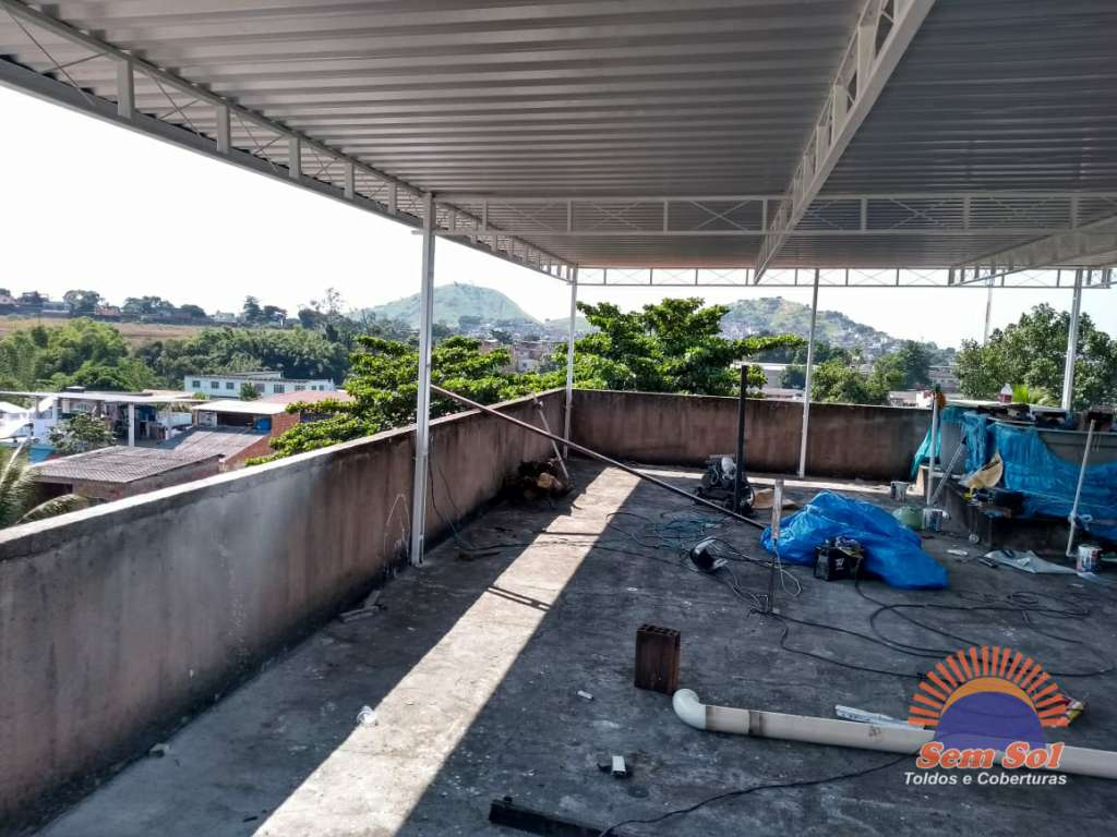 Cobertura com telha galvalume - Realengo